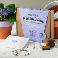 Floralicious Gourmet Edible Flower Growing Kit