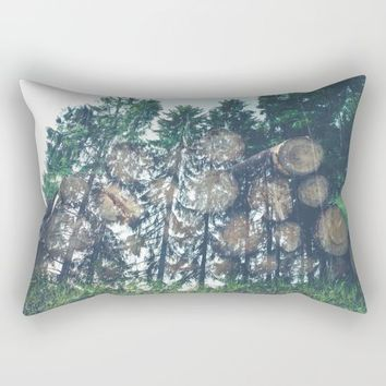 Wild Rectangular Pillow by Gallery One
