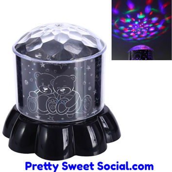 Rotating Glow Lights Projector