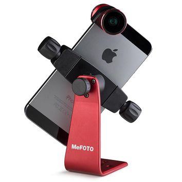 MeFOTO SideKick360 Smartphone Adapter Table Tripod For Mobile Phone Stable Phone Cilp Bracket 12 Colors For Quick Release Plate