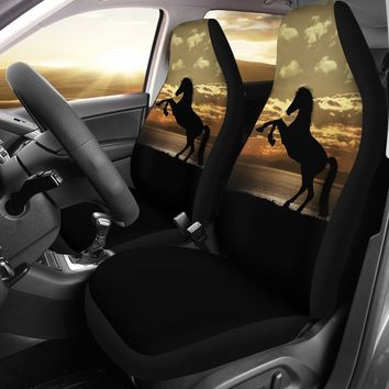 Horse Silhouette Seat Covers
