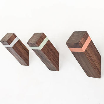 WallNuts™ - Modern Wall Hooks Featuring Mid-Century Inspired Colors.