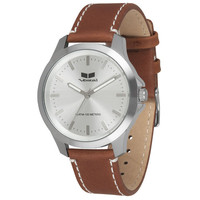 Vestal Heirloom Leather Watch Brown One Size For Men 23440940001