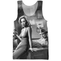 """""""Back in the Day"""" X-Files Tank Top"""