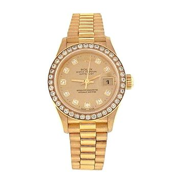 Rolex Datejust automatic-self-wind womens Watch 79138 (Certified Pre-owned)