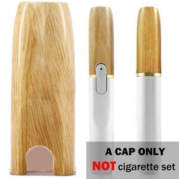 iQOS Cap IQOS Holder Cover Case for IQOS 2.4/2.4 Plus Electronic Cigarette Set, High Temperature resistance, Limited Edition Color (Wood Grain) - Cap ONLY
