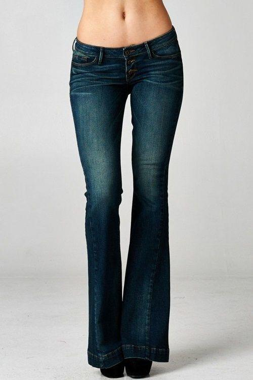Hippie Flare Jeans from PAPERDOLL