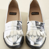 An Open Innovation Loafer | Mod Retro Vintage Flats | ModCloth.com