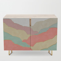 Minimal Landscape collection 03 Credenza by marcogonzalez