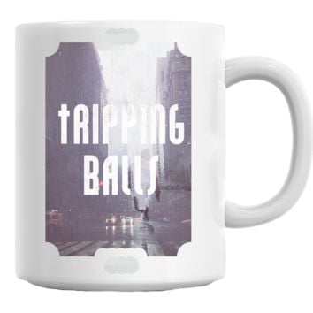 Tripping Balls Skater Coffee Mug Cup 11 Oz