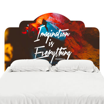 Imagination is Everything Headboard Decal