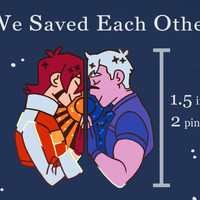 [PREORDER] We Saved Each Other Pin Set