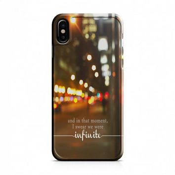 Perks Of Being A Wallflower (infinite) iPhone X Case