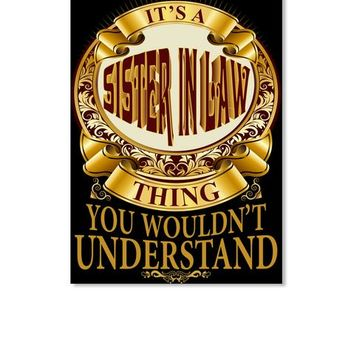 It's A SISTER IN LAW Thing V3 Gift