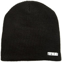Neff Men's Daily Beanie Hat, Black, One Size