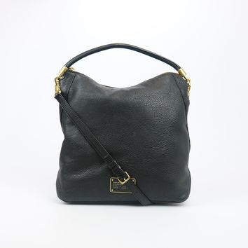 Marc By Marc Jacobs Hillier Black Leather Hobo