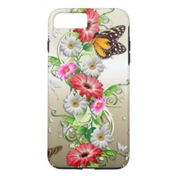Pretty Colorful Butterfly iPhone 8 Plus/7 Plus Case