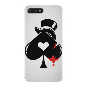 poker hat ace of spades iPhone 7 Plus Case