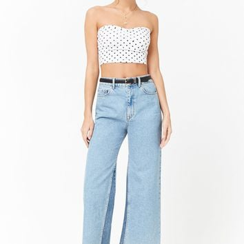 Polka Dot Tube Top