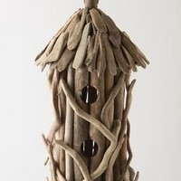 Driftwood Birdhouse - Anthropologie.com