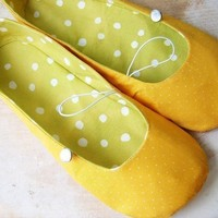Sewing Pattern Vintage Flair Flats women's by winterpeach