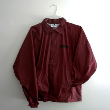 STRIKES Coach Jacket (Maroon)