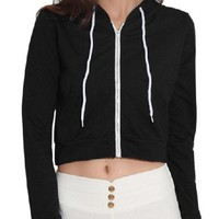 Basic Crop Hoodie - 4 Colors