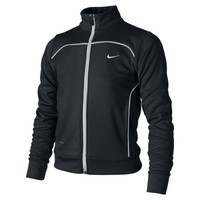 Nike Dri-FIT Waffle Knit Girls' Jacket - Black