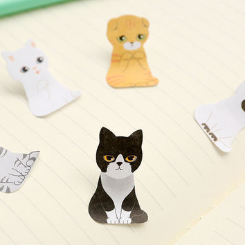 Kawaii Cat House Sticky Note