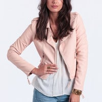 Jouer Faux Leather Jacket
