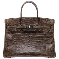 Hermès Alligator Birkin 35
