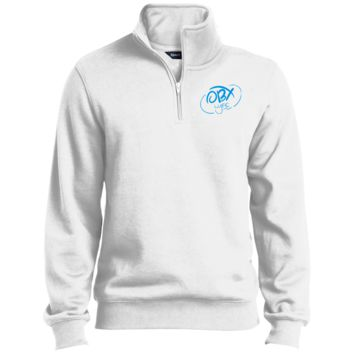 Sky Blue OBX Lyfe 1/4 Zip Sweatshirt in 10 Colors
