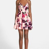 Women's Keepsake the Label 'Star Crossed' Floral Print Fit & Flare Dress,