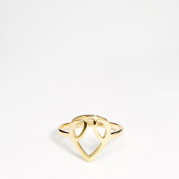 Jewelry Stylish Gift Shiny New Arrival Fashion Accessory Strong Character Geometric Ladies Gold Ring [4956846020]
