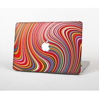 The Vibrant Colorful Swirls Skin Set for the Apple MacBook Pro 13""