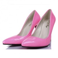 PU Leather Court Shoes