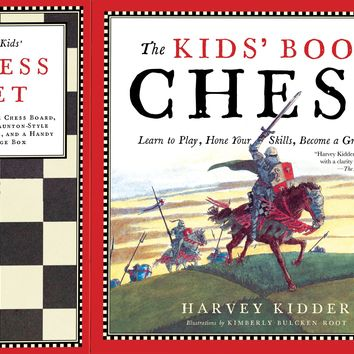 The Kids' Book of Chess/Book and Kids' Chess Set