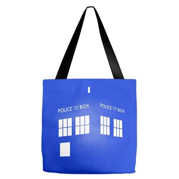 Tardis Doctor Who Tote Bags