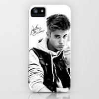 Justin Bieber Signature 2 iPhone Case by Toni Miller | Society6