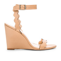 Loeffler Randall Piper Wedge in Wheat