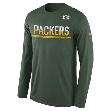 NFL Green Bay Packers Nike Practice Long Sleeve T-Shirt