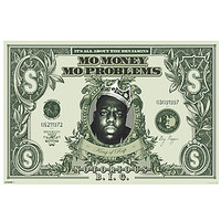The Pyramid of America Poster Mo Money in Green