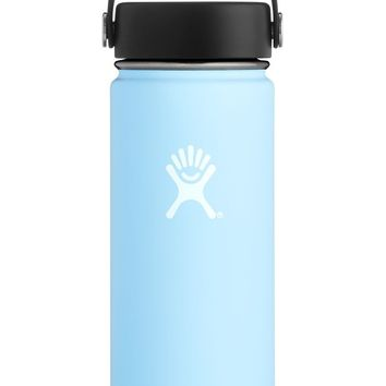 18 oz. Wide Mouth Hydro Flask - Frost