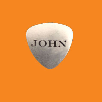 Custom Name Engraved Guitar Pick