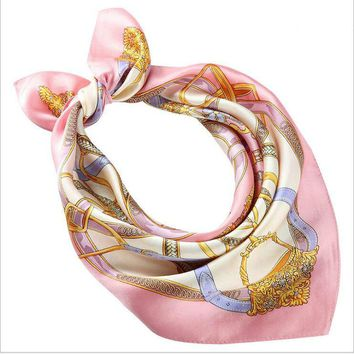 Small Square Silk Scarf Natural Women Silk Scarves High-grade Woman Neck Scarf for Bags Bandana Hijab Gift Present