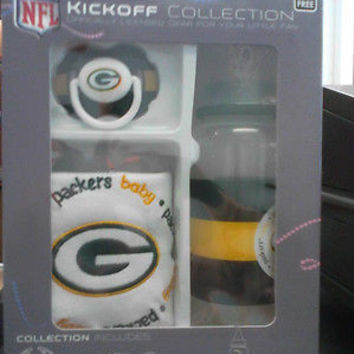 NFL Green Bay Packers Baby Gift Set