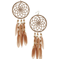 Dream Catcher Hoops - Earrings - Jewellery By Diva - Accessories - Miss Selfridge