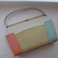 Color Blocking Melbourne Purse