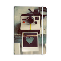 "Cristina Mitchell ""Polaroid Love"" Teal Camera Everything Notebook"