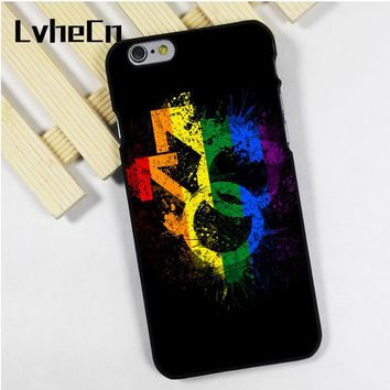 LvheCn phone case cover fit for iPhone 4 4s 5 5s 5c SE 6 6s 7 8 plus X ipod touch 4 5 6 Gay Pride Love Equality Peace